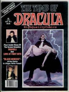 TOMB of DRACULA #1, VG+, Magazine, 1979, Vampire, Fangs, more Vampire in store
