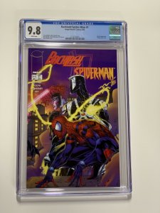 Backlash / Spider-man 1 Cgc 9.8 White Pages Marvel Image 1996