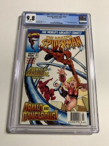 Amazing Spider-man 426 Cgc 9.8 White Pages Rare Newsstand Edition Marvel