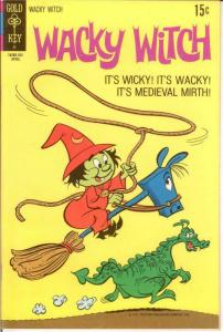 WACKY WITCH (1971-1975 GK) 2 VF April 1971 COMICS BOOK