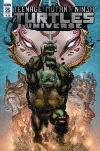 TMNT Teenage Mutant Ninja Turtles Universe #25 Cvr A (IDW, 2018) NM