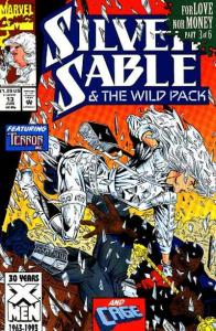 Silver Sable and the Wild Pack #13, NM (Stock photo)