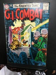 G.I. Combat #102 (1963) mid high grade, haunted tank key! FN+ Gray tone cover!