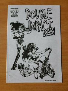 Double Impact Raw Preview Ashcan Promo #1 ~ NEAR MINT NM ~ 1997 ABC Comics