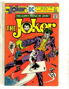 The Joker # 5 FN/VF DC Comic Book SIGNED By Julius Schwartz Batman Joker J371