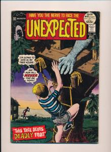 DC The UNEXPECTED #135 Have you the nerve to face the UNEXPECTED VG/F (SRU642)