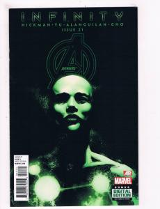 Avengers # 21 NM 1st Print Variant Cover Marvel Comic Book Hickman Thor Hulk S66