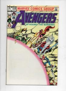 AVENGERS #233, VF/NM,Thor, Captain Marvel, 1963 1983, more Marvel in store