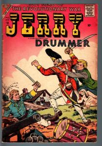 JERRY DRUMMER #12-CHARLTON-1957-REVOLUTIONARY WAR COMIC-M WHITMAN ART--G/VG G/VG