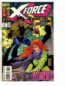 Lot Of 12 X-Force Marvel Comic Books # 31 32 33 34 35 36 37 39 40 41 42 43 J257