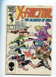 X-Factor 5 VG 1st Cameo of Apocalypse