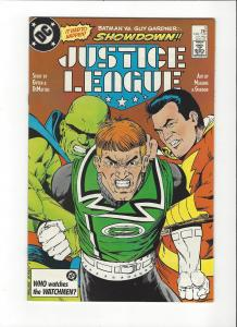 Justice League #5 1987 DC Comics Copper Age  NM