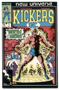 Kickers Inc #1 1986- Marvel comics VF/NM