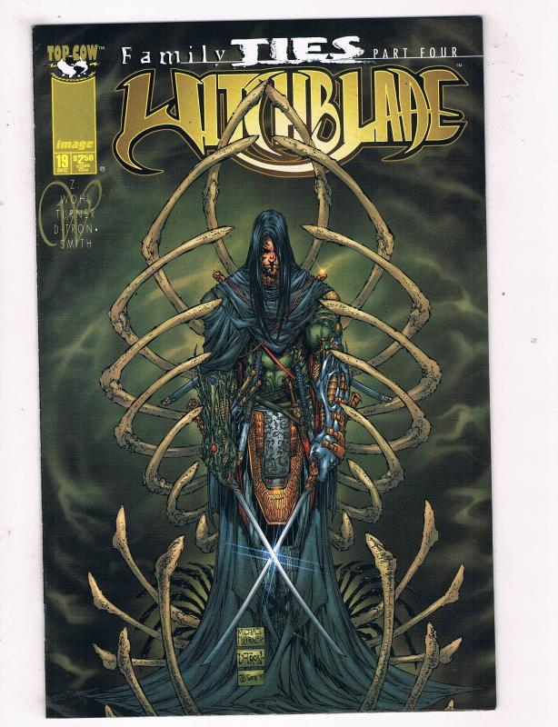 Witchblade #19 VF Image Top Cow Comics Comic Book Turner Dec 1997 DE43 TW14