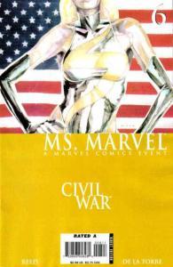 Ms. Marvel (2006 series) #6, NM (Stock photo)