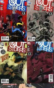 OUTSIDERS (2003) 34(both),35-36 Good Fight 3-part set