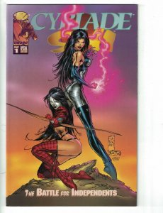Cyblade/Shi: The Battle for Independents #1C VF; Image   save on shipping - deta
