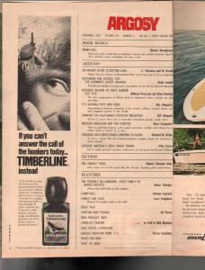 Argosy 12/1972-1st A-Bomb Test Site-bunko artists-ESP-pulp fiction-FN