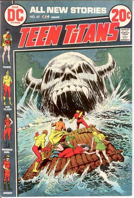 TEEN TITANS (1966) 42 F-VF   December 1972 COMICS BOOK