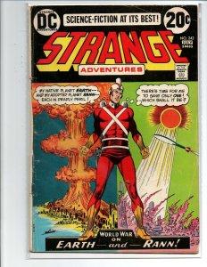 Strange Adventures #242 - Adam Strange - 1973 - Good+