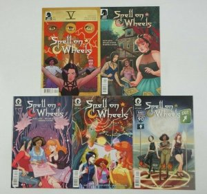 Spell on Wheels #1-5 VF/NM complete series - witches on road trip set lot 2 3 4