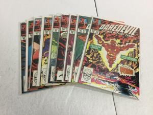 Daredevil 261-269 Lot Set Run Nm Near Mint Marvel Comics IK