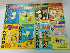 Bronze Age Harvey Casper Comic Lot 20 Different Average 5.0