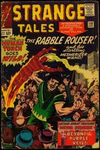 Strange Tales #119 1964- Human Torch- Doctor Strange G/VG
