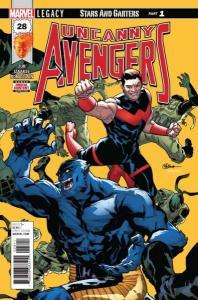 Uncanny Avengers (Dec 2015 series) #28, NM (Stock photo)