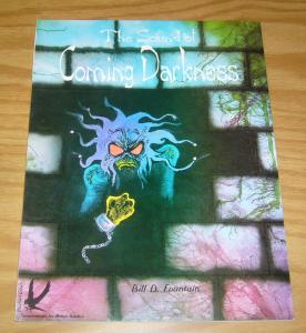 the Sound of Coming Darkness SC VF/NM blackbird comics - bill d. fountain 1994