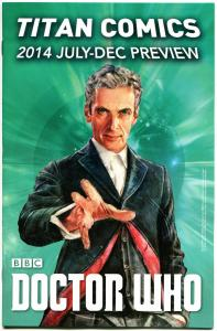 TITAN COMICS PREVIEW Promo, NM, 2014, Doctor Who, more DW in store