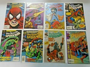 Spectacular Spider-Man Comic Lot #200-263 (Last Issue) 52 Diff Avg 7.0 (1993-98)