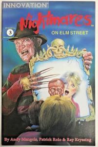NIGHTMARES ON ELM STREET#3 NM 1991 INNOVATION COMICS