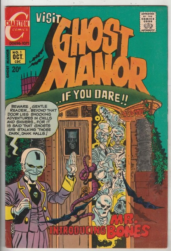 Ghost Manor #1 (Oct-71) VF/NM High-Grade