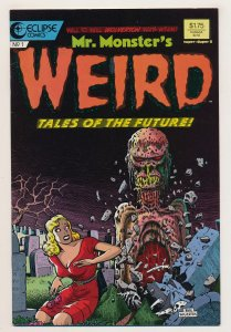 Mr. Monster's Weird Tales of the Future (1987) #1 VF