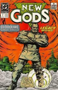 New Gods (1989 series) #7, NM (Stock photo)