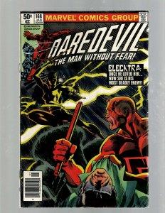 Daredevil # 168 FN Marvel Comic Book 1st Elektra Bullseye Kingpin Fr Miller J450