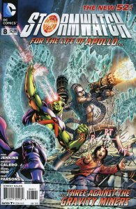 StormWatch (3rd Series) #8 VF/NM; DC   we combine shipping