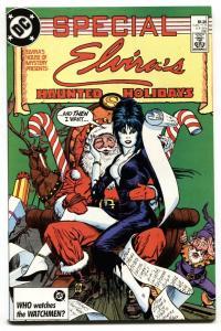 ELVIRA'S HOUSE OF MYSTERY SPECIAL #1 1987 Christmas Santa Claus
