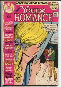 Young Romance #180 1972-DC-Giant issue-Art of Kissing-Love Hollywood Style-G