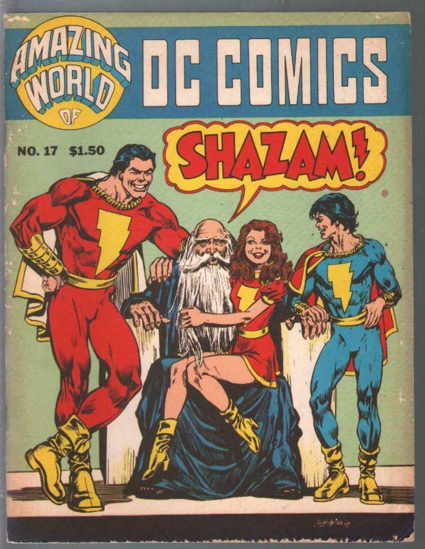 Amazing World of DC Comics #17 1978-Capt Marvel-Mary Marvel-CC Beck-VG