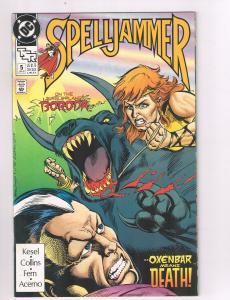 Spelljammer (1990) #5 DC Comic Book Science Fiction Barbara Kesel HH2