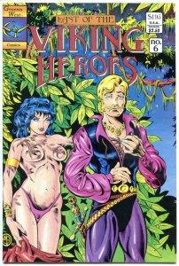VIKING HEROES #6, VF/NM, Genesis, Mike Thibodeaux,1988, more indies in our store
