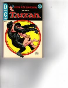 TARZAN COMICS DIGEST 1 VG+ (FALL '72) COMICS BOOK