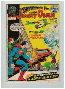 JIMMY OLSEN 147 F  KIRBY FOURTH WORLD ENDS