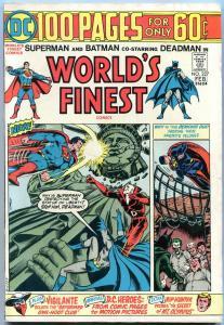 WORLD'S FINEST #227 1973 Superman, Batman, Deadman-100 page giant FN-