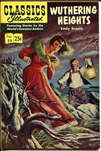 Classics Illustrated #59 1969-Gilberton-Wuthering Heights-HRN 169-VF/NM