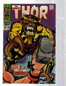 Mighty Thor # 155 VF/NM Marvel Comic Book Loki Odin Asgard Sif Avengers Hulk RB8