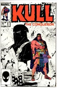 KULL the CONQUEROR #8 VF/NM Robert E Howard Buscema 1984 1985 Warrior King