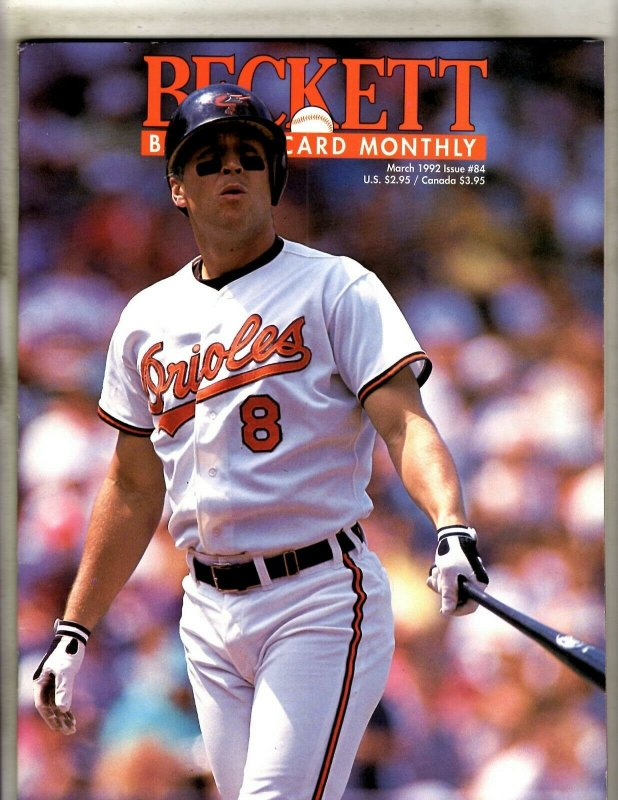Lot Of 6 Beckett Baseball Card Monthly Magazines 84 86 87